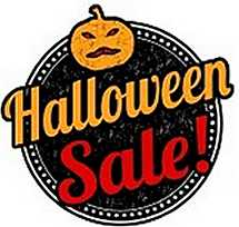 halloween sale sign - Halloween Sales